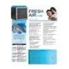 Kép 2/2 - FreshAIR Cube - Hordozható Katalitikus Ionizációs légtisztító, fertőtlenítő berendezés, szabályozható ózongeneráló funkcióval