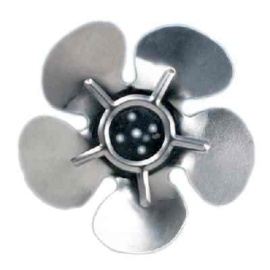 Ventilátor lapát 250mm nyomó