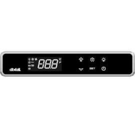 Dixell XW60LRT érintőképernyős termosztát