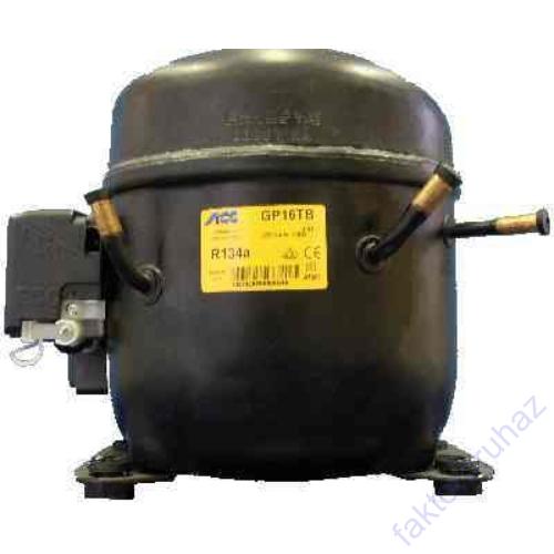 ACC  GP16TB  R134 kompresszor(+5/1205W,CSIR, 220V 50Hz ~1,HBP,16.15CM3)