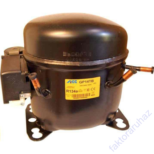ACC  GP12TB/GLY-12RA R134a kompr. (GP12TB,-10/ 456W,220V 50Hz ~1,HMBP,12.05CM3)