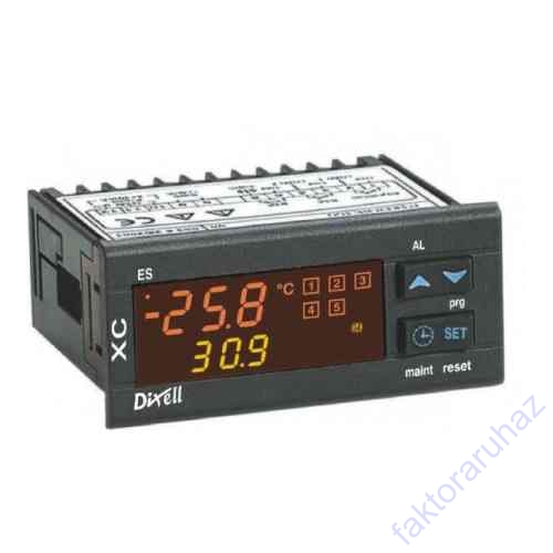 Dixell XC650C csoportaggregát vezérlő  230V